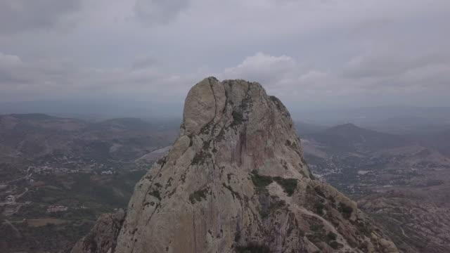 Peña Bernal aerial view
