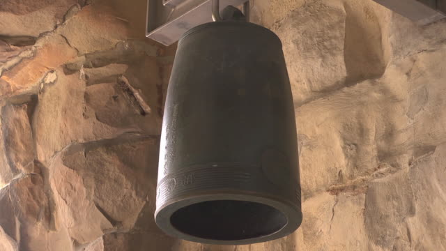 peace bell in the aegidienkirche / aegidien church - weapons of mass destruction stock videos & royalty-free footage