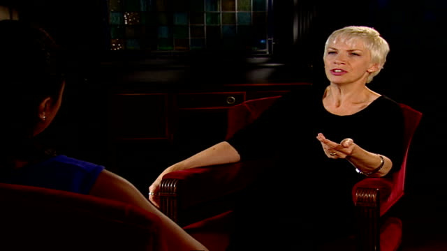 Peace One Day concert preview ENGLAND London Annie Lennox interview SOT