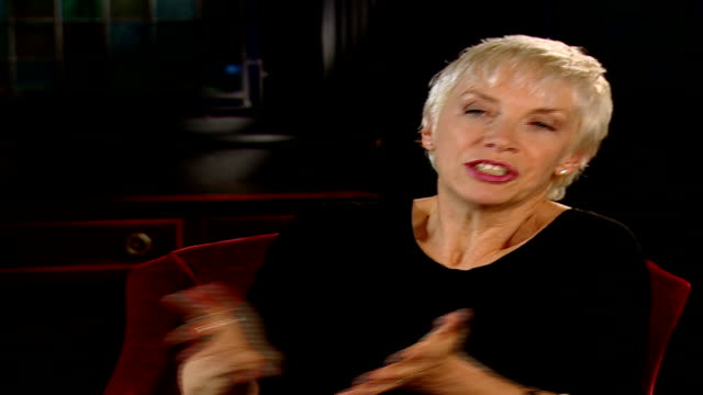 Peace One Day concert preview ENGLAND London INT Annie Lennox interview SOT discusses new album 'Songs of Mass Destruction' and opposition to war in...