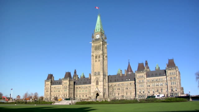 peace tower 2 - ottawa stock videos and b-roll footage