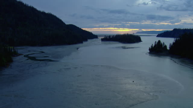 Peaceful Landscape At Alaskan Bay