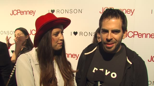 Peaches Geldof and Eli Roth on coming out to support Charlotte their thoughts on the collaboration with Foreigner and why JCPenney is a good fit for...