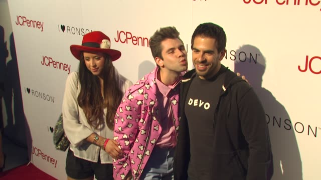 Peaches Geldof Eli Roth at the Charlotte Ronson And JCPenney Spring Cocktail Jam at Hollywood CA