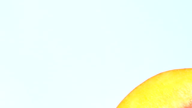 Peaches rotating