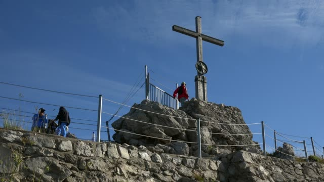 Peak of Nebelhorn Mountain (2224m), Oberstdorf, Allg?u, Swabia, Bavaria, Germany