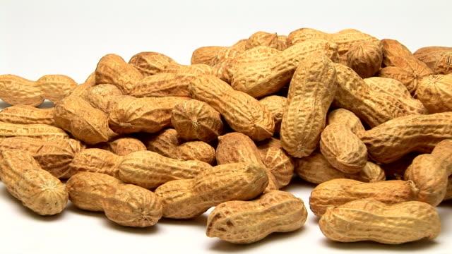 peanuts - nutshell stock videos & royalty-free footage
