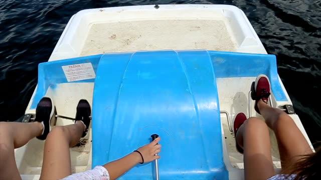 Pedal boat,b roll