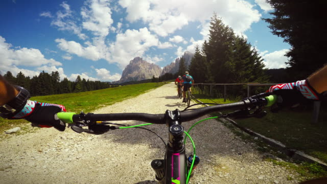 marcia harsch slope in team - siusi video stock e b–roll