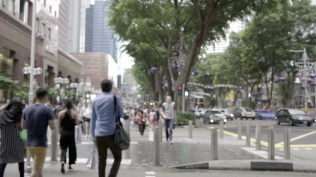 Pedestrian commuting and vehicle traffic