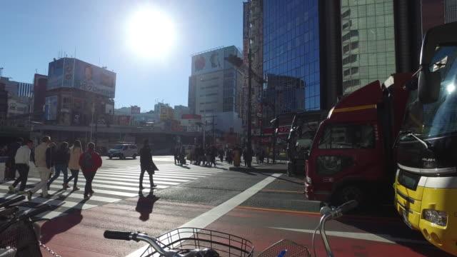 Pedestrian crossing to street