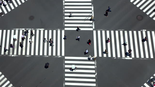 pedestrian crossing -4K-