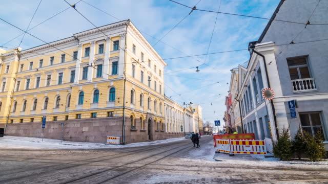 stockvideo's en b-roll-footage met voetganger kraaide in helsinki, finland - finland