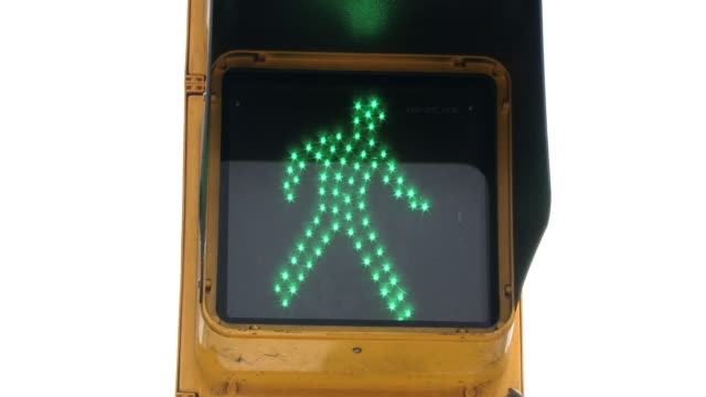 pedestrian light hd - green light stoplight stock videos and b-roll footage