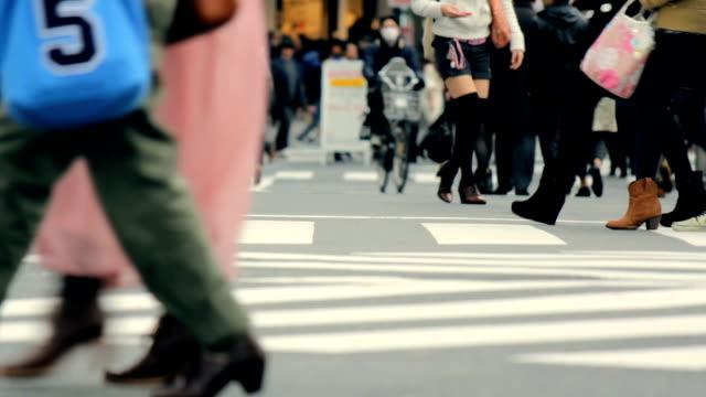 pedestrian mall / Tokyo, Japan