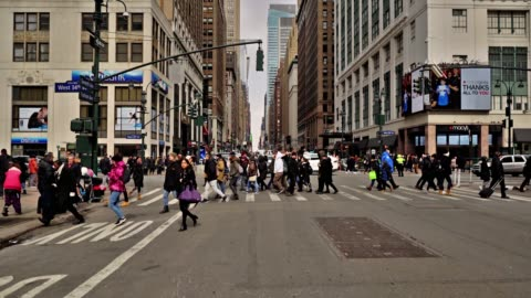 pedestrian. new york. - editorial stock videos & royalty-free footage