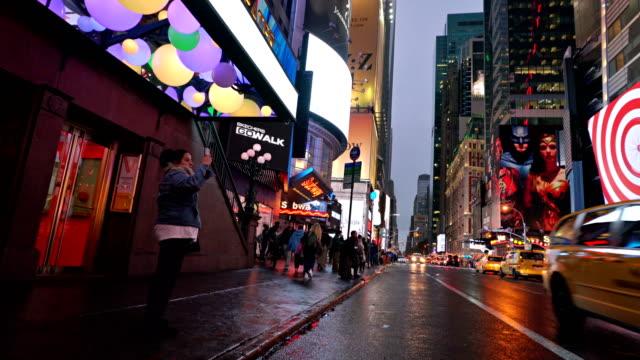 pedestrian on 42nd streeet - westernisation stock videos & royalty-free footage
