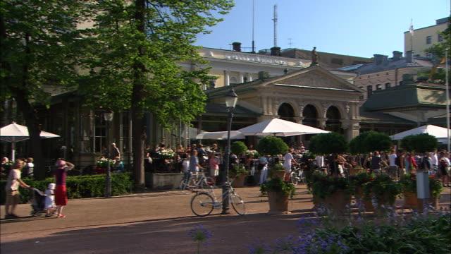 Pedestrian Plaza, Helsinki, Finland