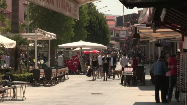 Pedestrian Road, Kusadasi, Turkey
