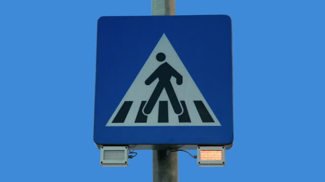 hd - pedestrian sign - stop single word stock videos & royalty-free footage