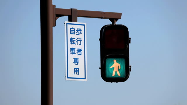 pedestrian stop light - traffic light stock videos & royalty-free footage