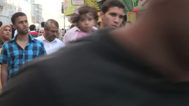 Pedestrian Traffic, Bethlehem, Palestine