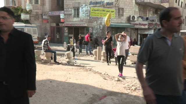 pedestrian traffic, bethlehem, palestine - palestinian territories stock videos and b-roll footage