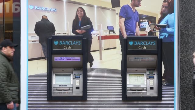 A pedestrian walks past a branch of Barclays bank operated by Barclays Plc in Billericay UK on Thursday Feb 26 gvs of Barclays branches in London gvs...