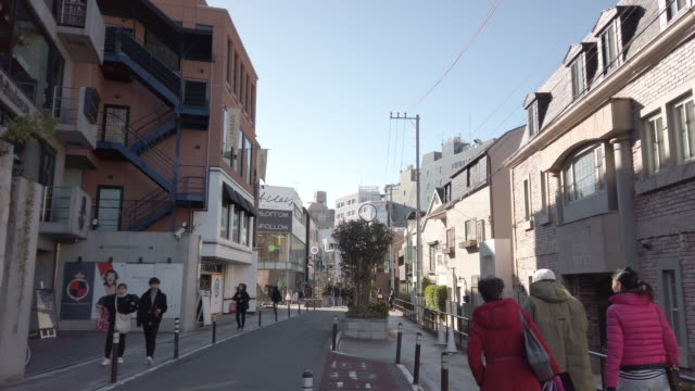 pedestrians crowded at cat street harajuku in tokyo , japan - tradition stock videos & royalty-free footage