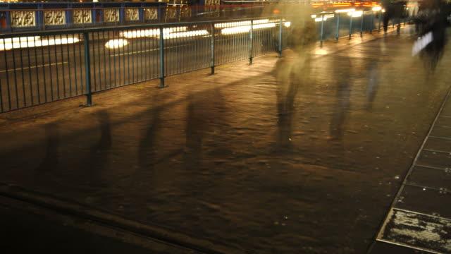 Pedestrians time-lapse