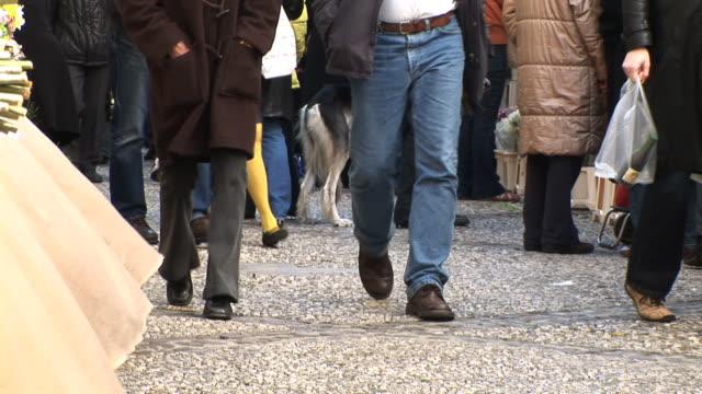 hd :歩行者 - ビニール袋点の映像素材/bロール