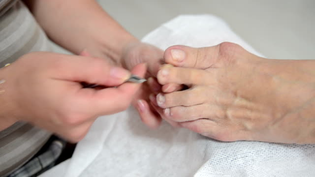 pedicure - pedicure stock videos & royalty-free footage