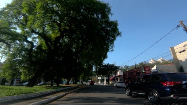 pedra azul avenue, são paulo - brazil - azul stock videos & royalty-free footage