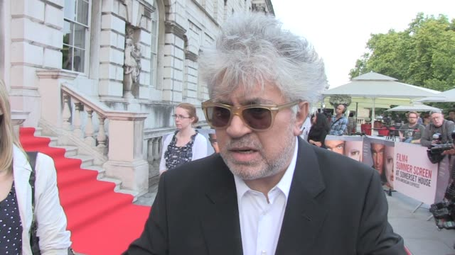 Pedro Almodovar on his views on plastic surgeons and the future at The Skin I Live In UK Premiere Film4 Summer Screen