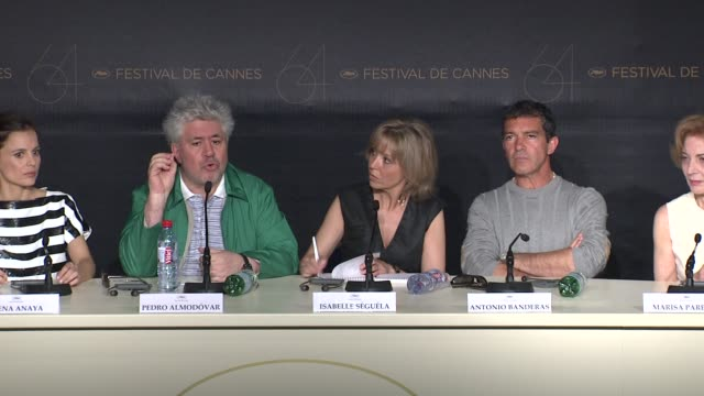 Pedro Almodovar on the characters in the film