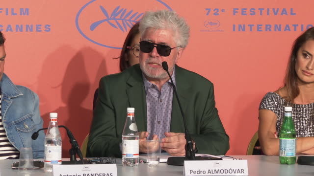 Pedro Almodovar talks about how he's been adopted by France and once you've been adopted it's for life but he's also affiliated with the Brazilian...