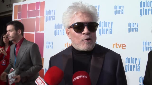 Pedro Almodóvar Presents His New Movie Dolor y Gloria
