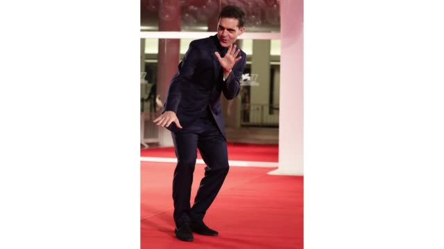 venice italy september 06 pedro alonso walks the red carpet ahead of the movie the world to come at the 77th venice film festival on september 06... - gif stock videos & royalty-free footage