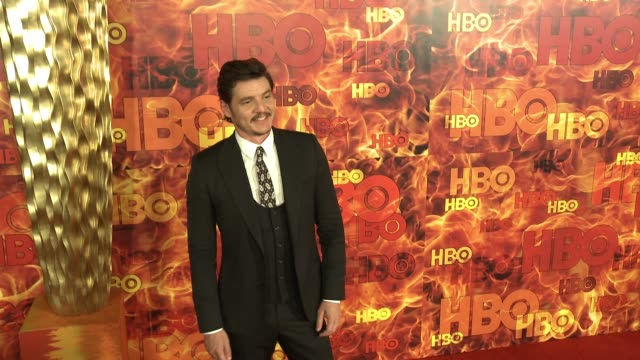pedro pascal at the 2015 hbo emmy after party at the plaza at the pacific design center on september 20 2015 in los angeles california - pedro pascal stock videos & royalty-free footage