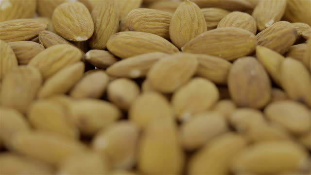 Peeled Almond -  4K video