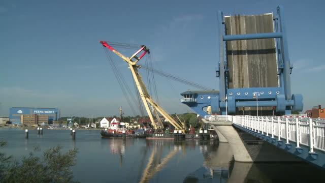 WS Peene Bridge / Wolgast, Mecklenburg-Western Pomerania, Germany