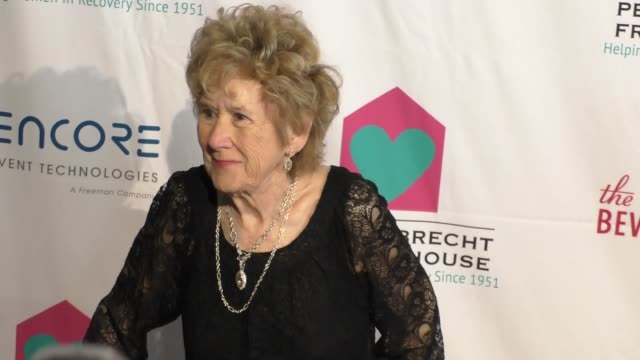Peggy Albrecht at the Peggy Albrecht Friendly House 26th Annual Awards Luncheon at the Beverly Hilton Hotel in Beverly Hills at Celebrity Sightings...