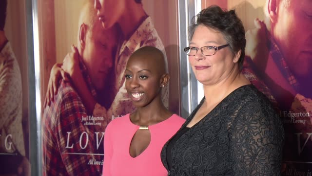 Peggy Loving Fortune and producer Oge Egbuonu at Loving New York Premiere Presented by Focus Features at Landmark Sunshine Cinema on October 26 2016...