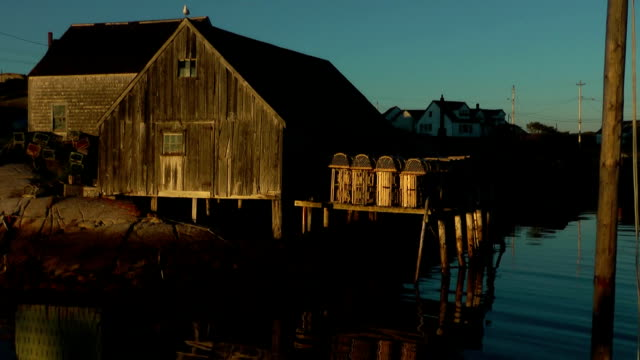 peggyscove shed - nova scotia stock videos and b-roll footage