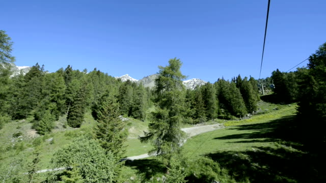 Peio, landscape from the clableway Peio Fonti - Tarlenta.