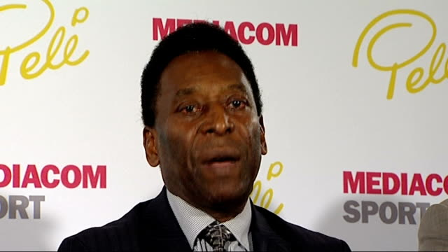 Pele promotes MediaCom Sport and Legends 10 deal at press conference Pele press conference SOT On whether Usain Bolt has joined him and Mohammad Ali...