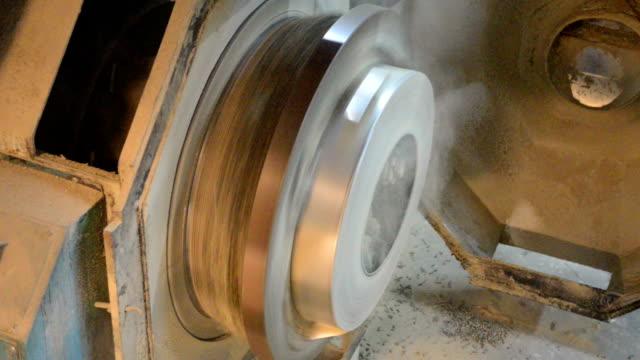 vídeos y material grabado en eventos de stock de línea de producción de pellets - cereal plant