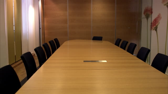 a pen and a note pad on a table sweden. - board room stock videos & royalty-free footage