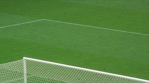 ms ha penalty area of soccer field / nuremberg, germany - 2006 stock videos & royalty-free footage