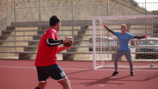 penalty kick - scoring a goal stock videos & royalty-free footage